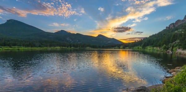 Estes Park - Lily Lake Rocky Mountain National Park