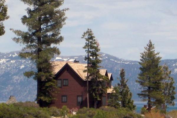 Cabin: Porch; Meeks Bay Resort