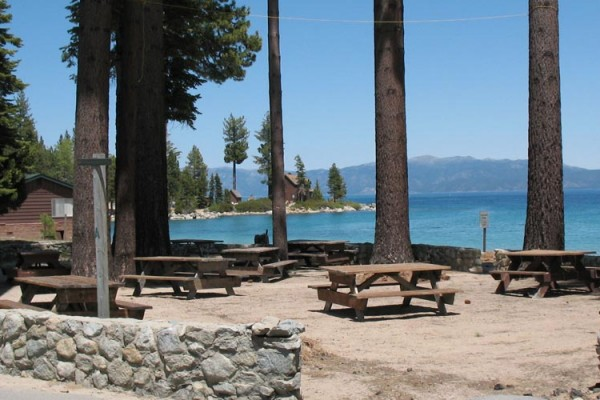 Picnic Area and Beach