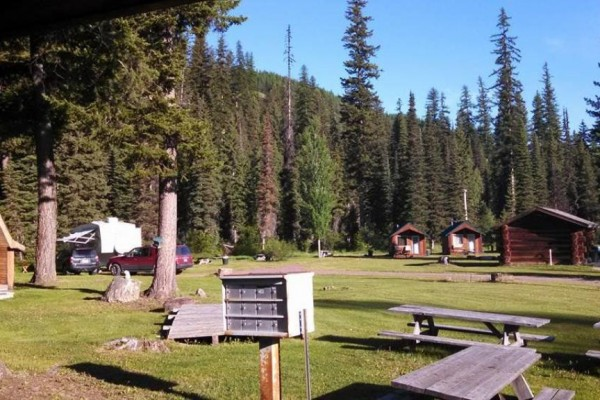 Common Area and Picnic Tables
