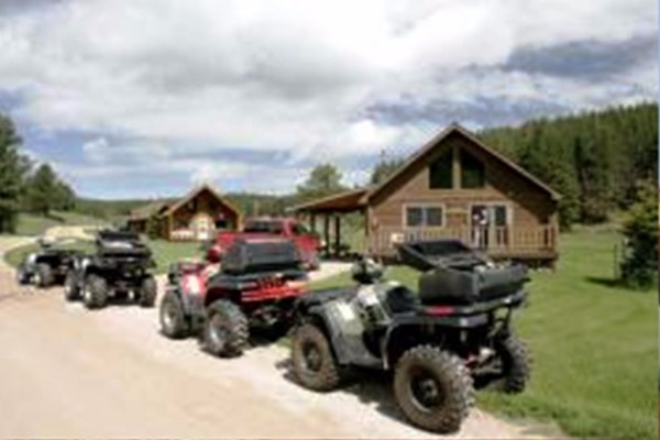ATV rentals on site
