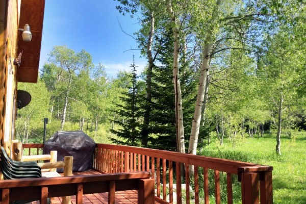 Aspen Cabin - Deck