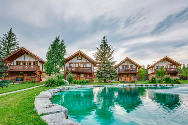 The Chalets & Pond