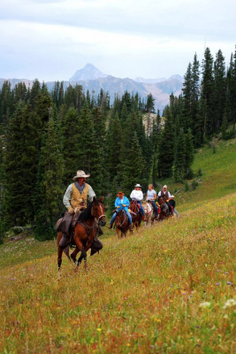 Horseback Rides from Ranch