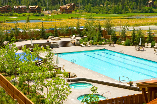 Teton Springs Spa nd Pool
