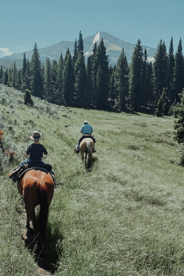 Trail Riding On-Site