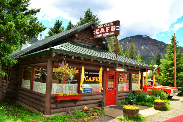 Log Cabin Cafe
