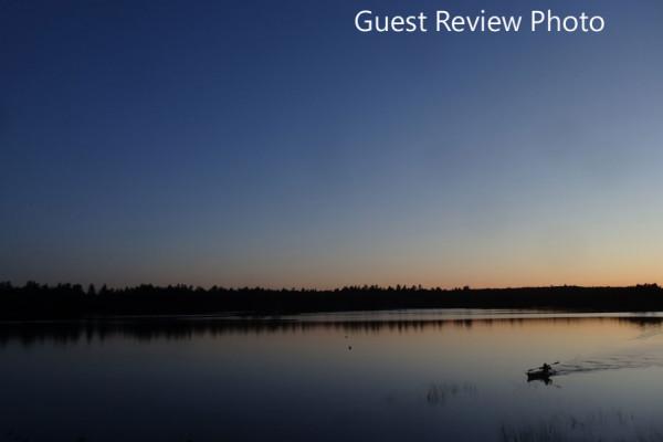 Twilight on Patten Pond