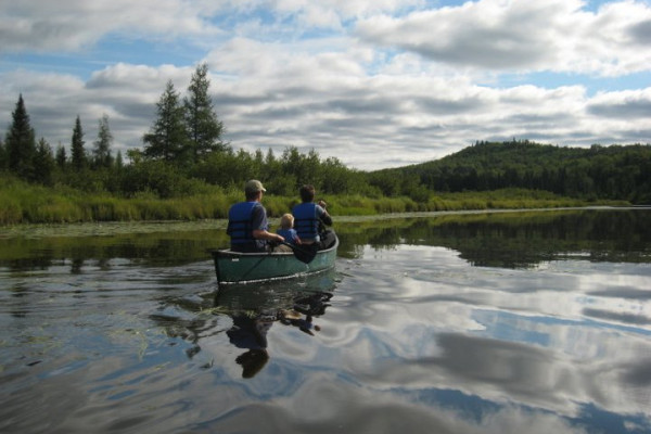 Canoe area waters