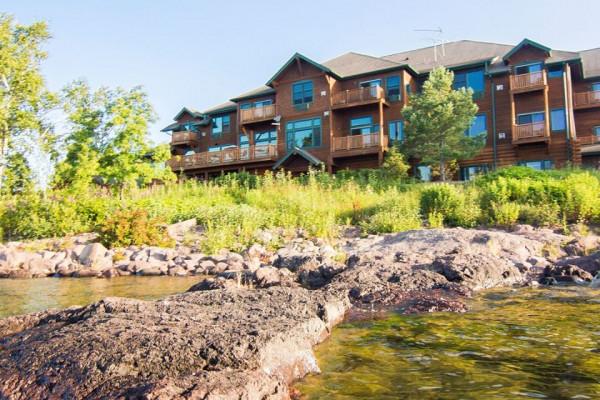 Lake View of Lodge