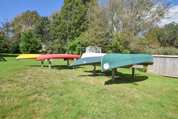 Kayak and Canoes on Property