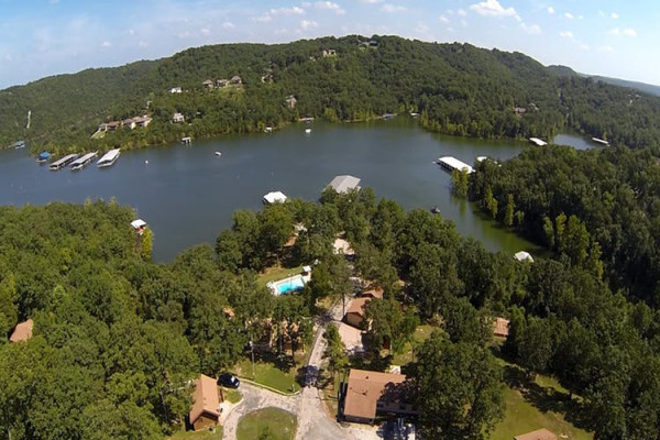 Aerial View of Mill Creek Resort