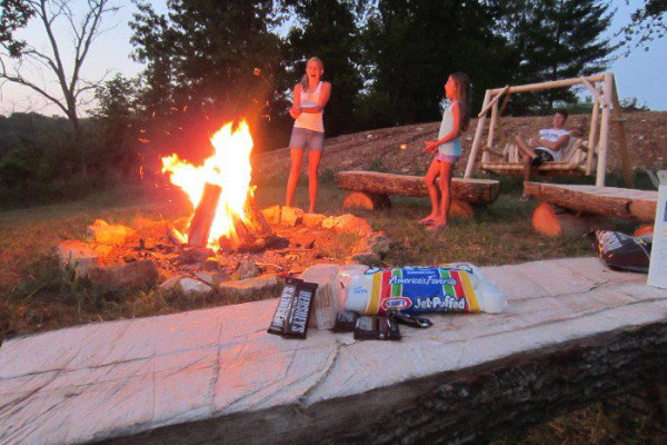 Firepits with Smores