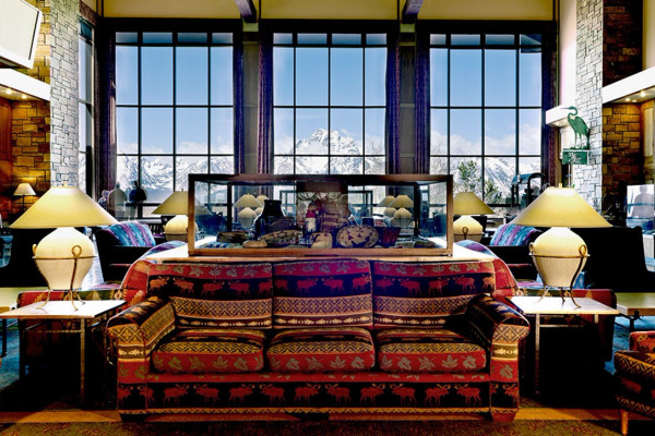 Jackson Lake Lodge Lobby