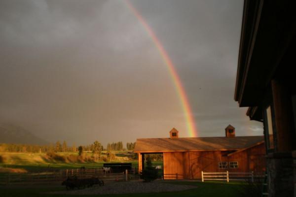 Barn on Property