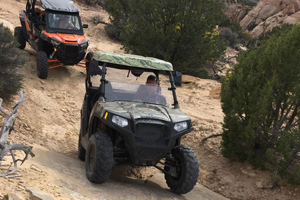ATV riding nearby