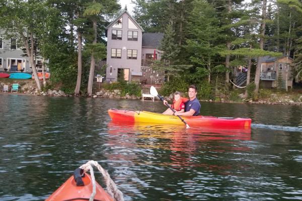 Boating on Pond
